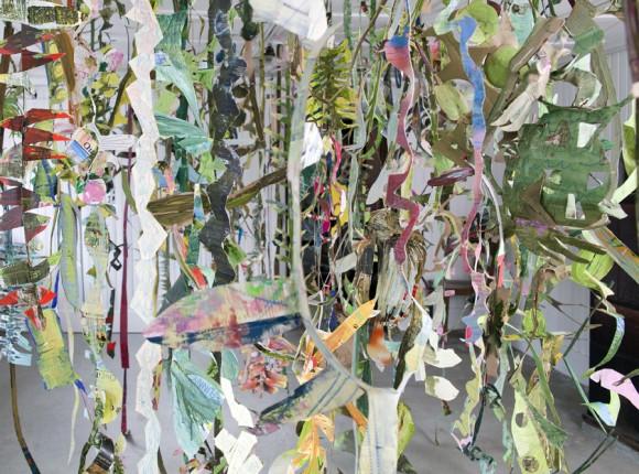«Wildwuchs», Ein Kunstprojekt von Christine Bänninger und Peti Wiskemannim Otto Bruderer Haus in Waldstatt